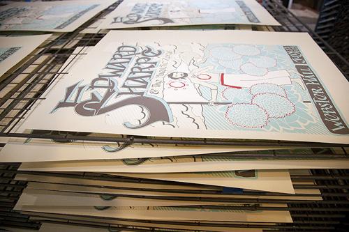 Edward_Sharpe_Poster_drying_rack