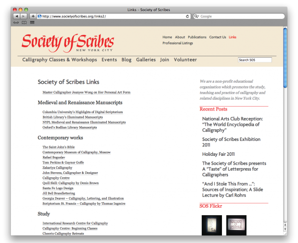 Society_of_Scribes_Links