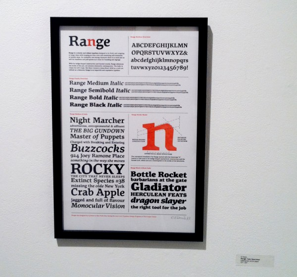CJDunn_Past_to_Present_Exhibition_Range_Type_Specimen