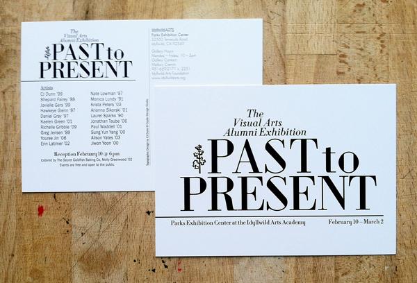 CJDunn_Past_to_Present_Exhibition_postcard
